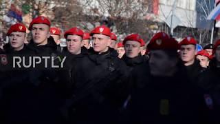 Bosnia and Herzegovina: Military parade marks Day of Republika Srpska in Banja Luka