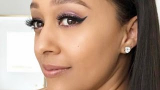 Tia Mowry Live Q&A on Her Face Washing Skin Care Routine
