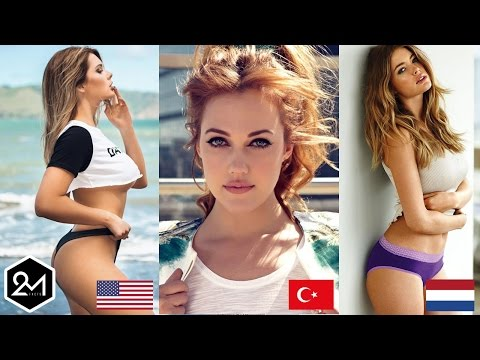 Top 10 Countries With The World's Most Beautiful Women 2017