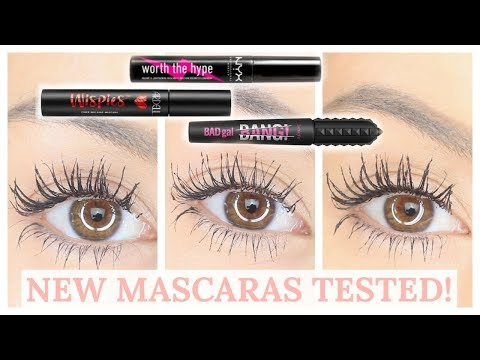 BATTLE OF THE NEW MASCARAS BENEFIT BAD GAL BANG NYX WORTH THE HYPE Beauty s Big Sister