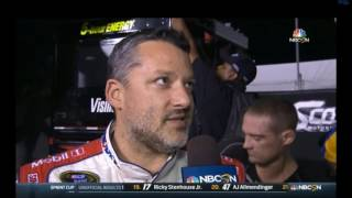 2016 Federated Auto Parts 400 - Stewart Post Race Interview