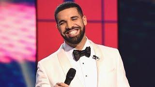 Drake Showing Off NEW BOO At 2017 NBA Awards!?