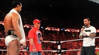 Raw - John Cena and CM Punk demand WWE Championship rematches