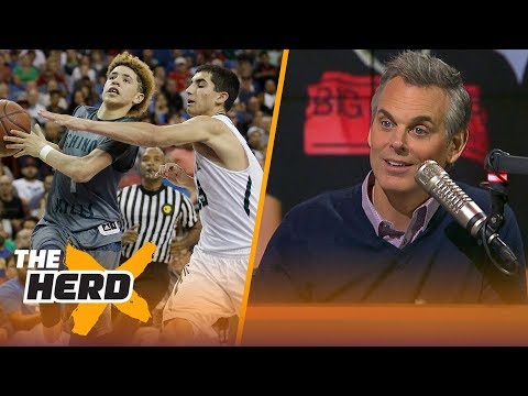 Colin Cowherd reacts to the Ball Brothers ballin overseas & OKC s struggles THE HERD