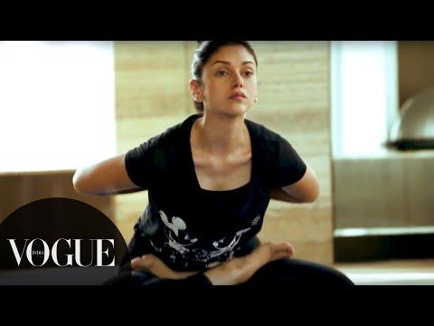 Xxx Mp4 Try Aditi Rao Hydari 39 S 5 Step Yoga Routine Vogue All Access Series VOGUE India 3gp Sex