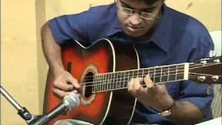Raga on Guitar, Ahir Bhairav by Kapil Srivastava Live Teenage Performance Guitarmonk