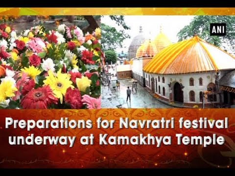 Xxx Mp4 Preparations For Navratri Festival Underway At Kamakhya Temple ANI News 3gp Sex