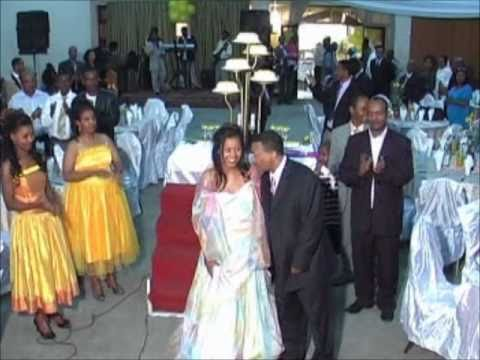 1. Meseret Hulumyefir & Menelik Alemu Engagement Party in Ethiopia 2010 Part I