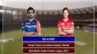 In Graphics: IPL - 2017, Punjab vs Delhi