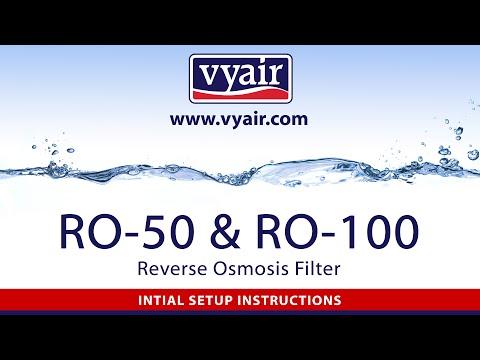 Vyair RO-50  & RO-100 Setup Information