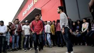 Delhi Street Dancers Vs The Nameless Crew|Delhi University Dance|Metro station Dance|ABESEC