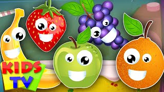 five little fruits | learn fruits fruits song nursery rhymes kids songs kids tv S02 EP0222