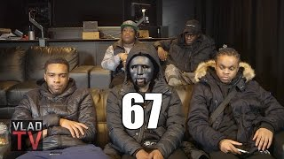 LD of 67 Explains His Mask, MF Doom Comparisons, LD & Scribz Not the Same