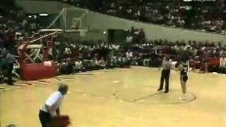 Bobby Knight Throws Chair