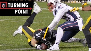 Controversial Catch Reversal Looms Large in Patriots vs. Steelers (Week 15)   NFL Turning Point