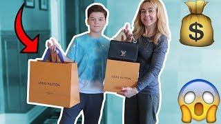 SURPRISING MY MOM WITH A $2,500 LOUIS VUITTON BAG FOR HER BIRTHDAY!