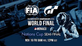 [English] FIA GT Championship 2018 | Nations Cup | World FInals | Semifinal