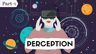 PERCEPTION Part-1 (Hindi)- BHU M.COM, NET/SET