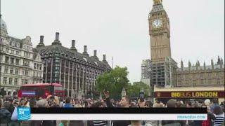 الدقات الأخيرة لساعة بيغ بن في بريطانيا