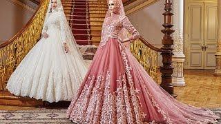 Osmanlı Moda 2017 Tesettür Gelinlik Koleksiyonu