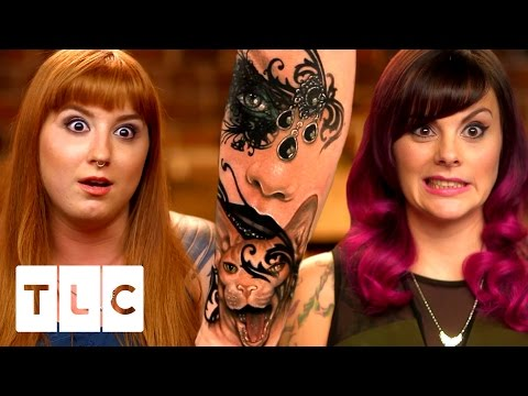 Xxx Mp4 The Girls HATE Amazing New Artist Liz Tattoo Girls 3gp Sex