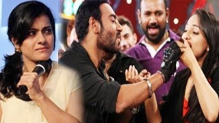 Kajol FIGHTS with Sonakshi Sinha over Ajay Devgn