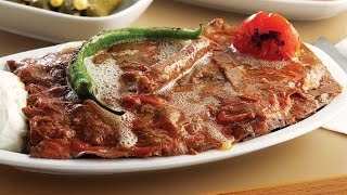 Döküm Tavada İskender Nasıl Yapılır ? Turkish Iskender Kebab Recipe