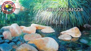 Fine art toips with a Free Acrylic Art Tutorial with Kelli McGregor on Colour In Your Life
