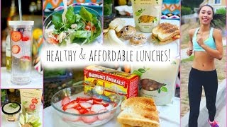 5 Healthy and Affordable Lunch Ideas for School!