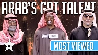 MOST VIEWED Auditions EVER On Arab's Got Talent! Got Talent Global