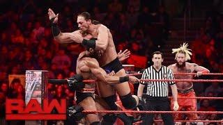 The New Day, Enzo & Cass vs. Braun Strowman, Rusev, Jinder Mahal & Titus O