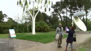L'arbre à vent de NewWind inauguré à Pleumeur-Bodou le 23 avril