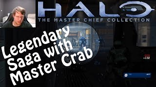 MANY DEATHS | Halo Legendary Master Chief Saga Playlist with Master Crab