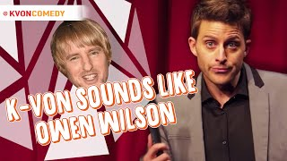 When you hate your own voice... and NOSE! (Owen Wilson)