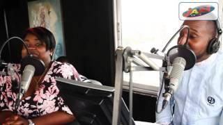 Stephane Flame dans le Menturier à Radio JAM