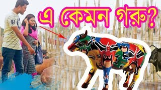 এ কেমন গরু ? ।  Bangla New Funny Video । । Korbanir Eid Special । New Video 2018 | Mojar Tv