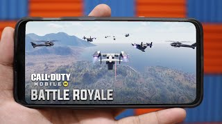 CALL OF DUTY MOBILE : Battle Royale Mode - Finally OUT (Gameplay),  First Impression, All Features
