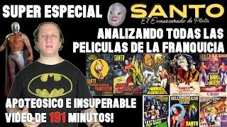 Super especial SANTO : EL ENMASCARADO DE PLATA - analizando todos los films de la franquicia