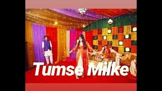 Tumse Milke Dance Performance