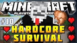 Minecraft PS3 - Hardcore Survival - Part 10 - RAVINE EXPLORATION! ( PS3 )