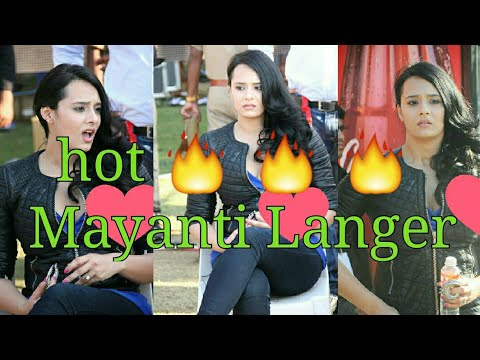 Xxx Mp4 TRENDING Most Hot 🔥 And Sexy 😍 Indian Cricket Anchor Mayanti Langer Stuart Binny Wife 🔥🔥 3gp Sex