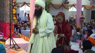 Sant Baljit Singh Daduwal during his marriage