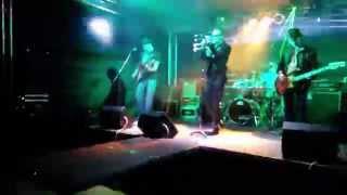 Oslava narozenin - Hlóža, Ferenc, Máša, BADI Dobříň 30.5.2015 U2 DESIRE Revival Band