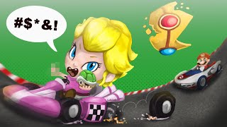 Mario Kart 8 Funny Moments w/ Friends - WORST PLAYER EVER, INTENSE RAGE!