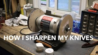 How I sharpen my knives - Razor Sharp Edge Making System