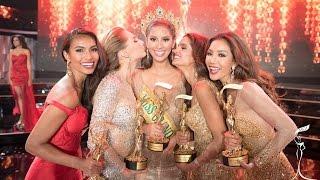 Miss Grand International 2015   Crowning Moment   Top 5 Winners