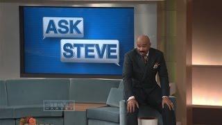 Ask Steve: He's vanilla and I'm into chocolate! || STEVE HARVEY
