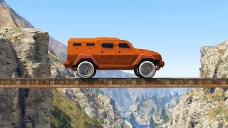 EXTREME MONSTER TRUCK PARKOUR! (GTA 5 Funny Moments)