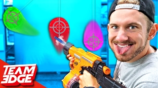 NERF Marksman Challenge!!