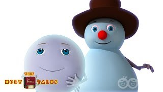 Silent Night | Christmas Songs | Bible Songs For Kids and Children with Lyrics | Froztee & Friends